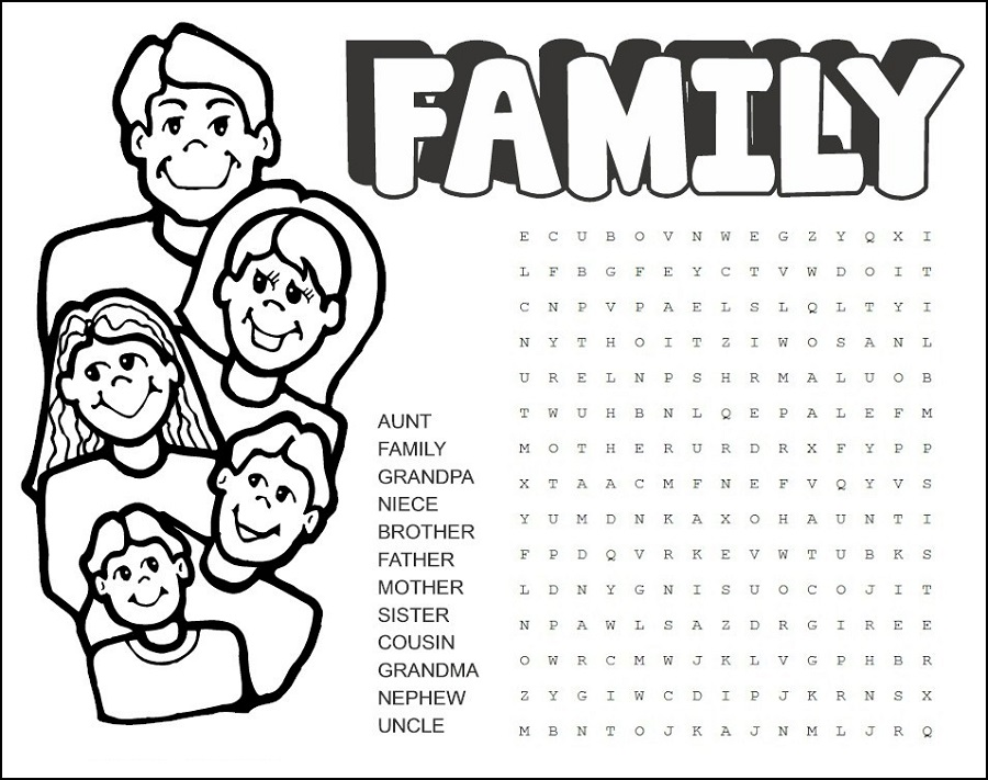 family-word-search-free