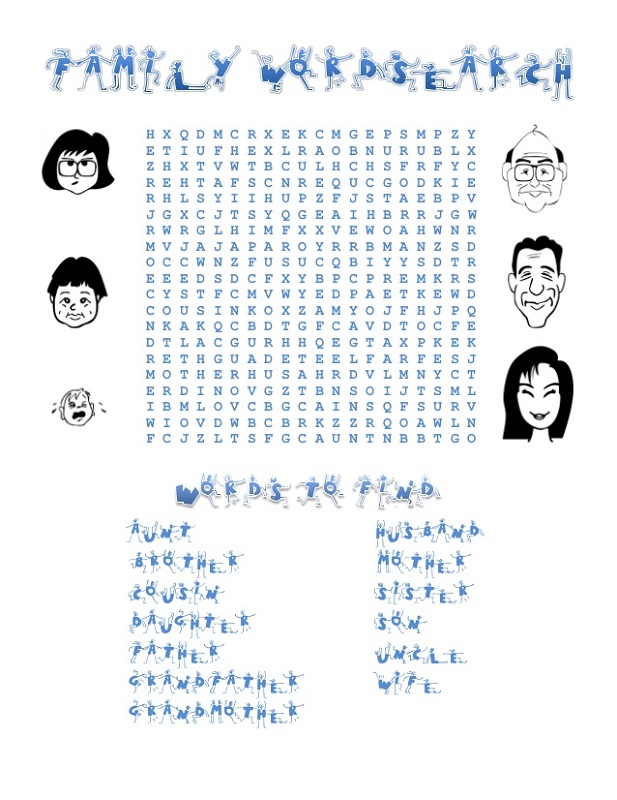 family-word-search-learning