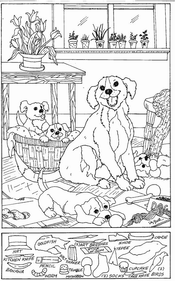 Worksheets Hidden Picture Worksheets free hidden pictures worksheets activity shelter picture worksheet dog