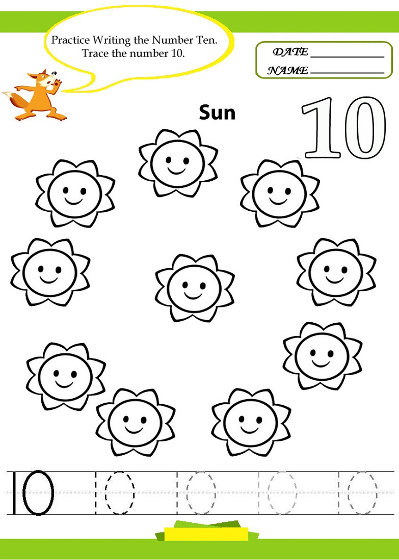 number-10-worksheet-for-kids