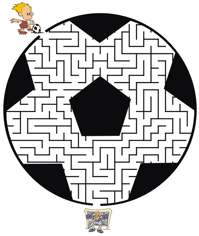 soccer-worksheets-for-kids-maze