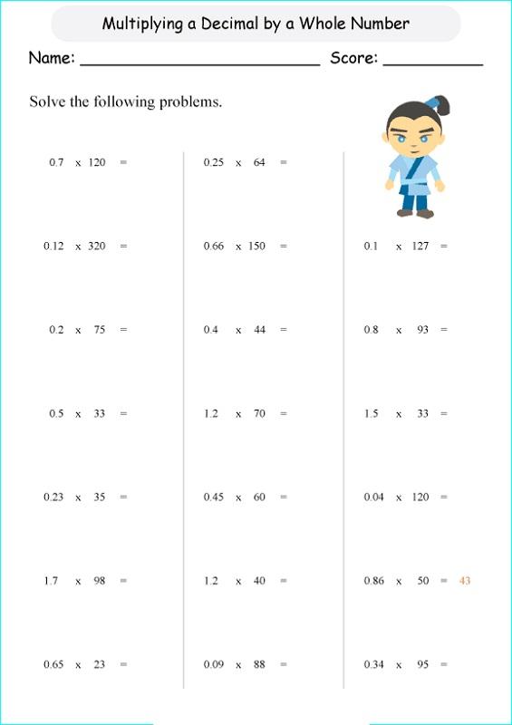 tenths-and-hundredths-worksheet-6th-grade