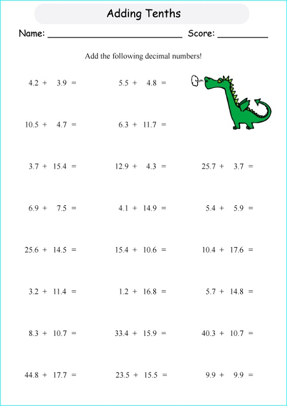 tenths-and-hundredths-worksheet-fraction