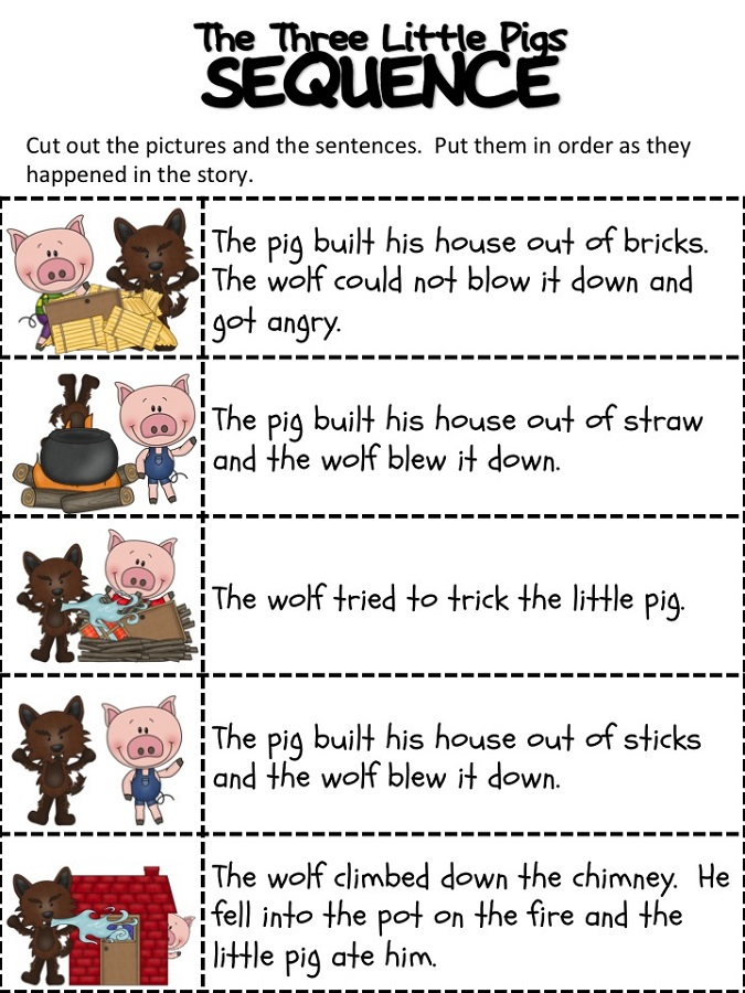 the-three-little-pigs-worksheets-sequence