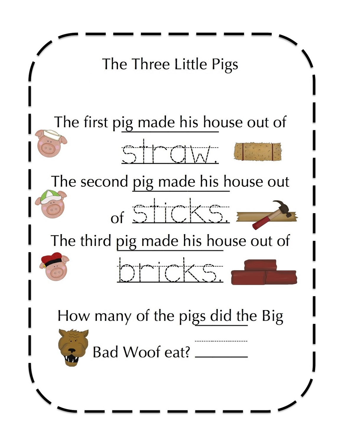 the-three-little-pigs-worksheets-trace