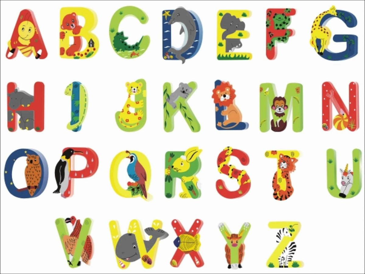 animal shaped letters printable