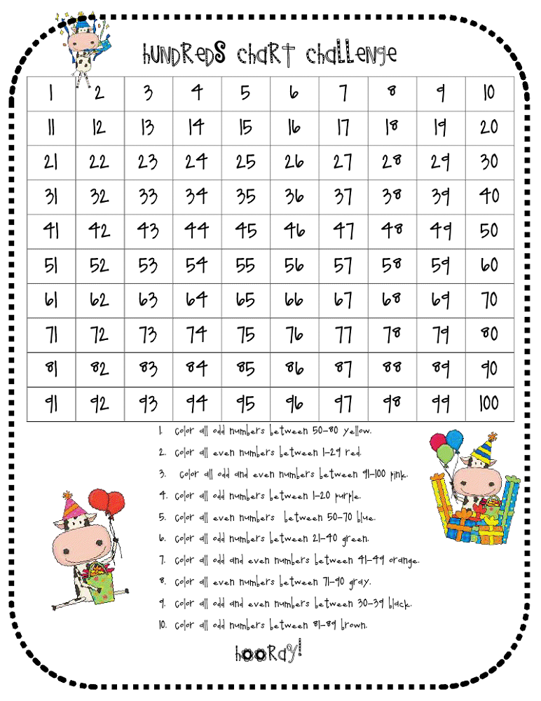 Free Odd and Even Worksheets | Activity Shelter