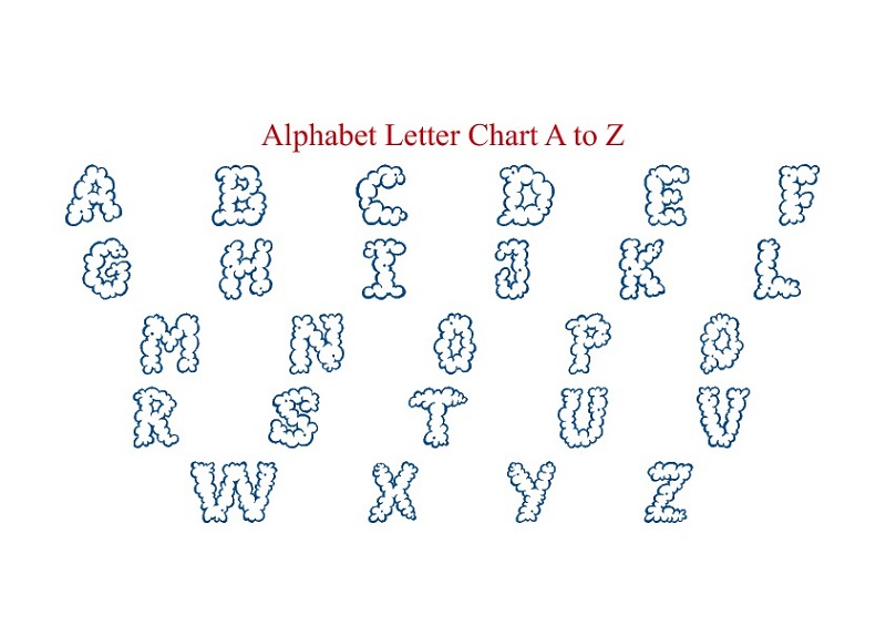Free Alphabet Charts | Activity Shelter