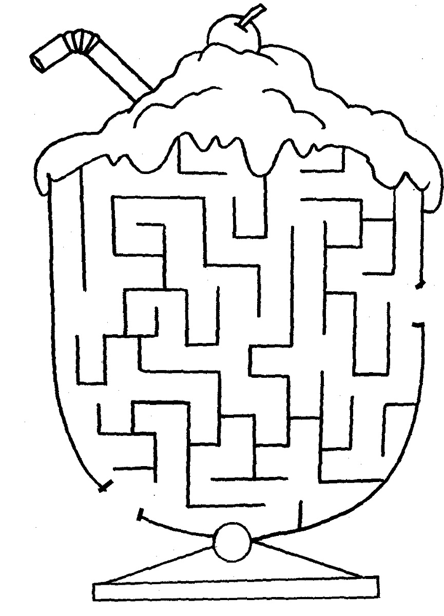 mazes for kids free