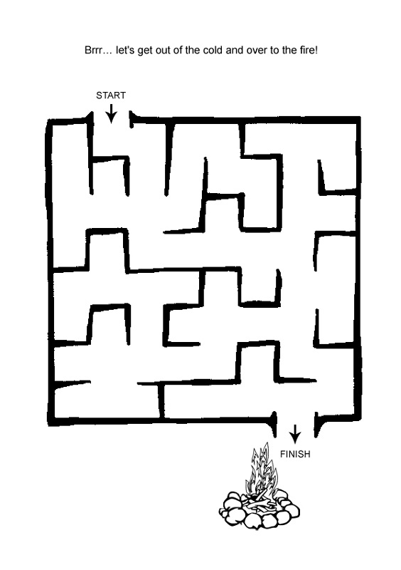 mazes for kids online