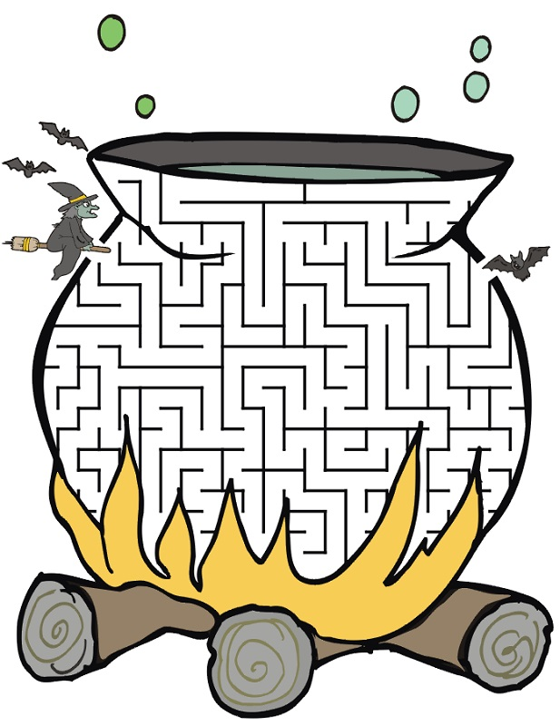 mazes for kids printable