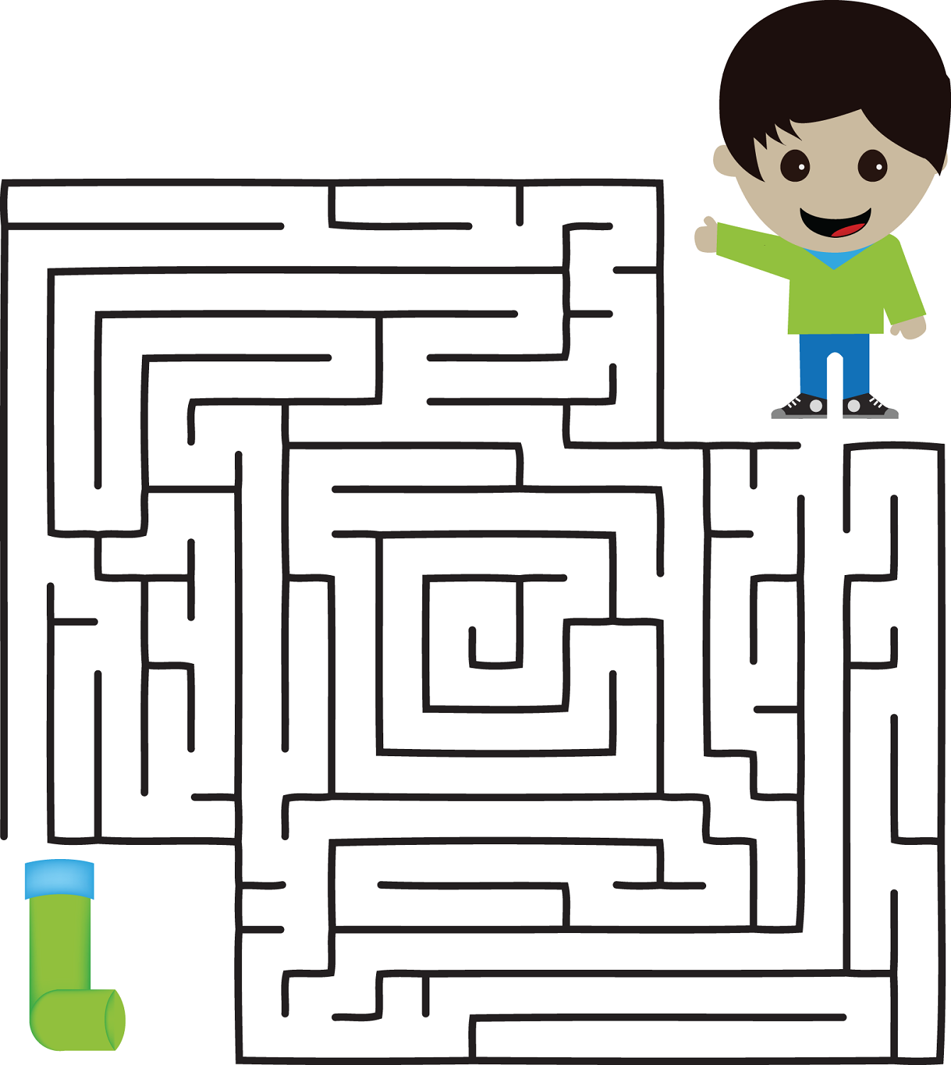 mazes for kids to print