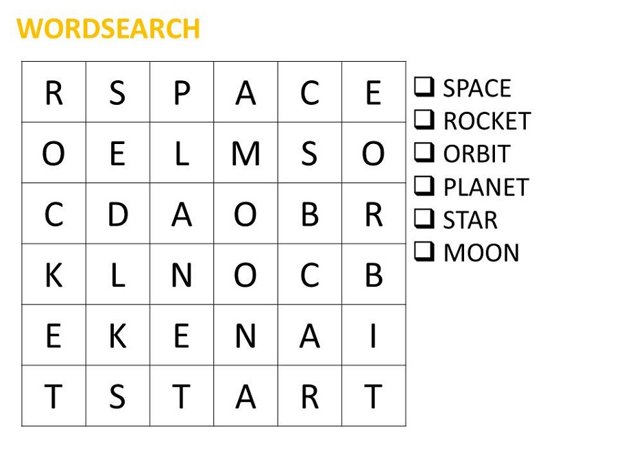 picture about Easy Word Search Printable referred to as House Phrase Glimpse Printable Video game Shelter
