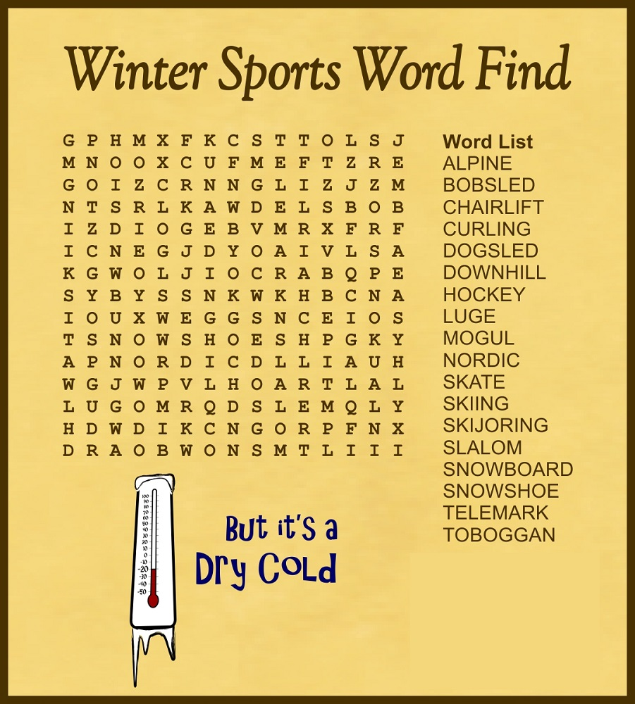 sports-word-search-winter