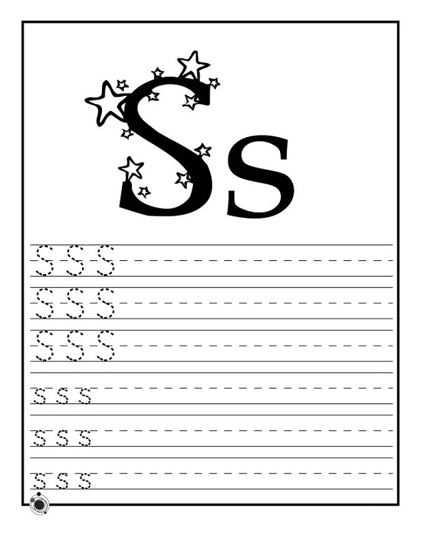 Free Trace Letter S Worksheets – Letter S Worksheets