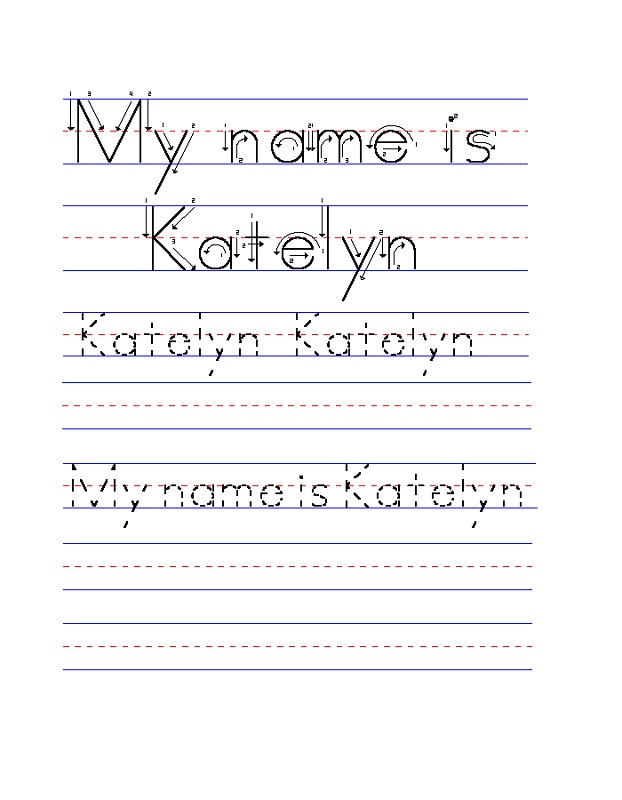 traceable-name-worksheets-for-preschoolers
