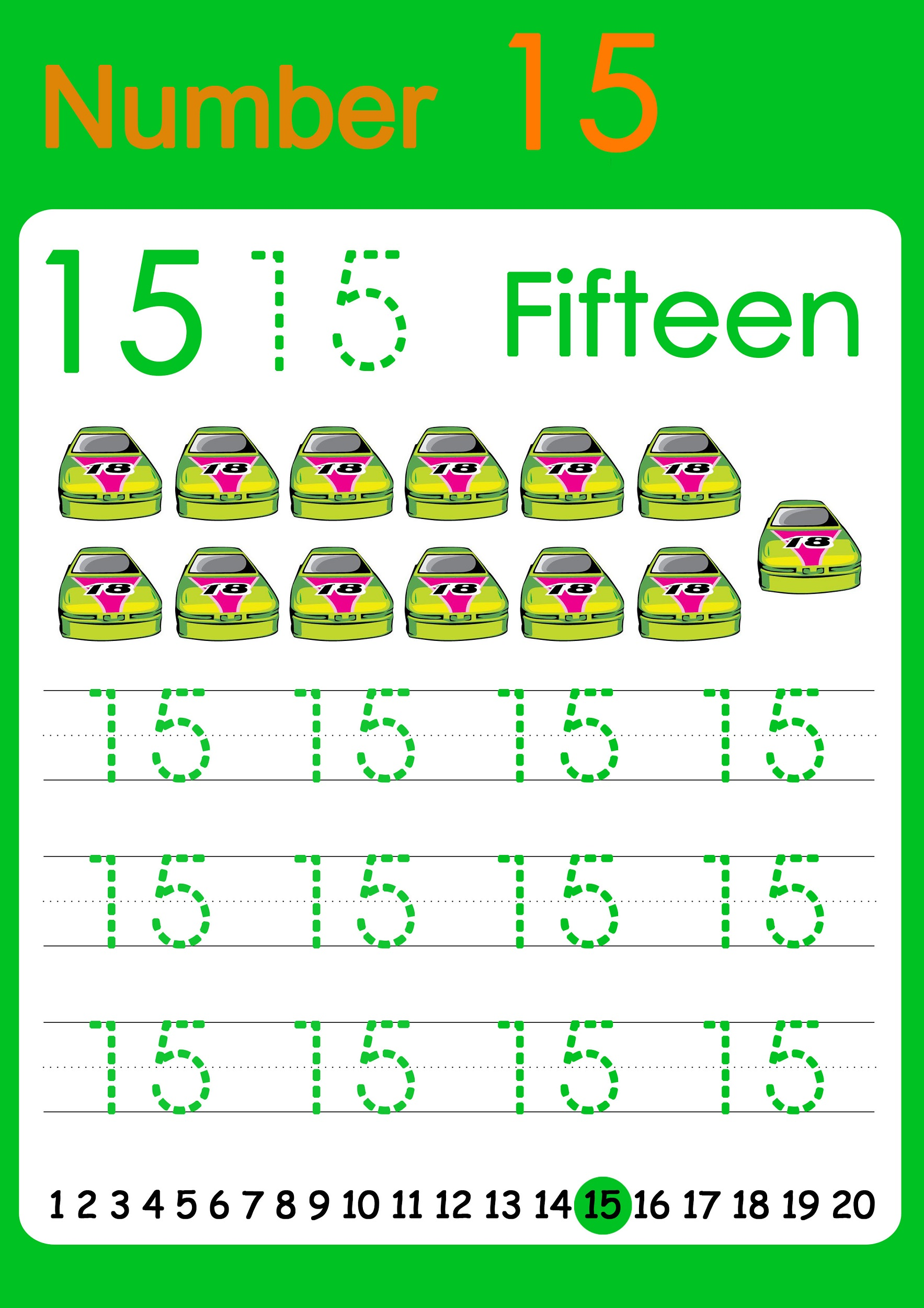 number 15 worksheets Worksheets for Kids Education Free Printables – Number 15 Worksheet