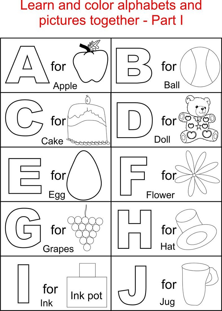 free letter worksheets picture