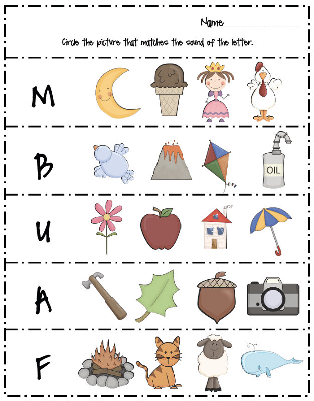free letter worksheets printable