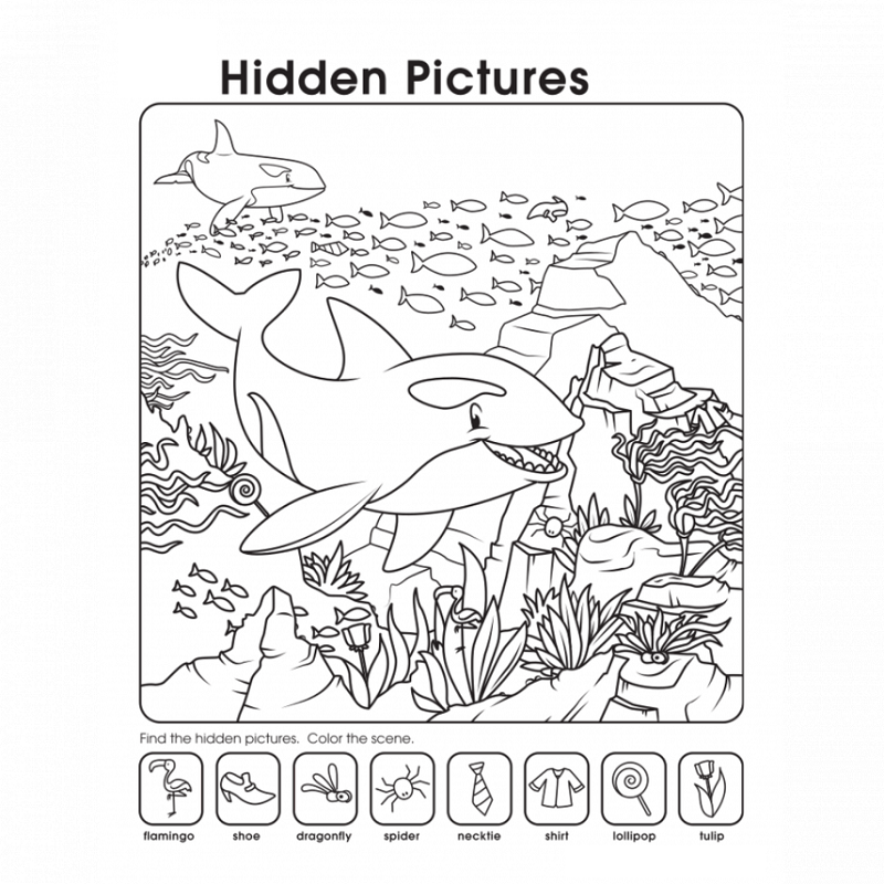 Printables Hidden Picture Worksheets printable hidden pictures worksheets activity shelter ocean