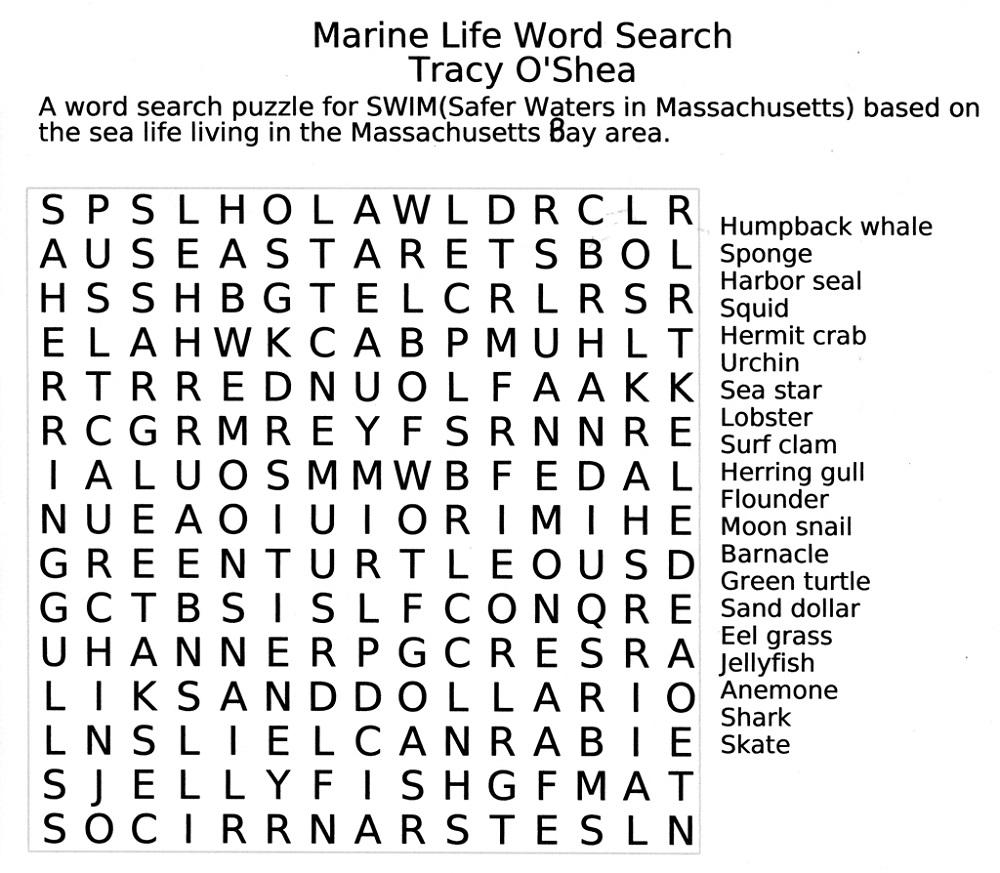 jumbo word search marine