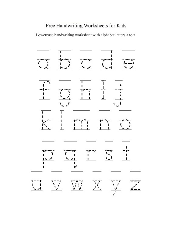 Simple Abc Worksheets : Traceable alphabet worksheets a z activity shelter