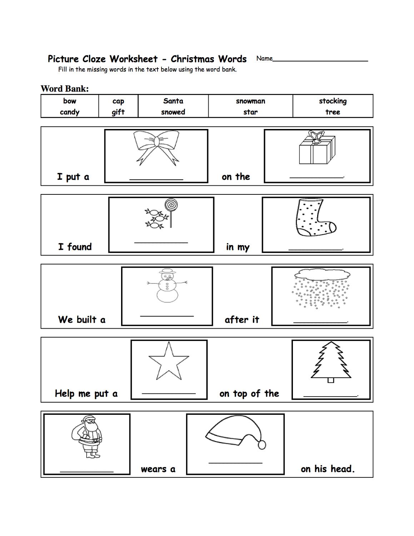 word games worksheets fun