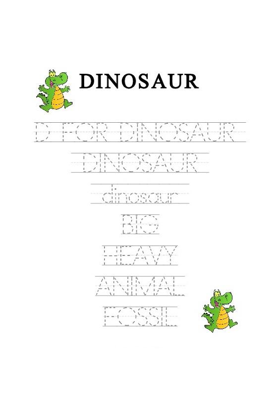 free traceable letters preschool