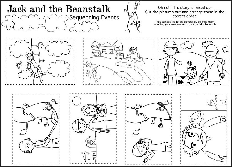 Jack And The Beanstalk Worksheets Activity Shelter