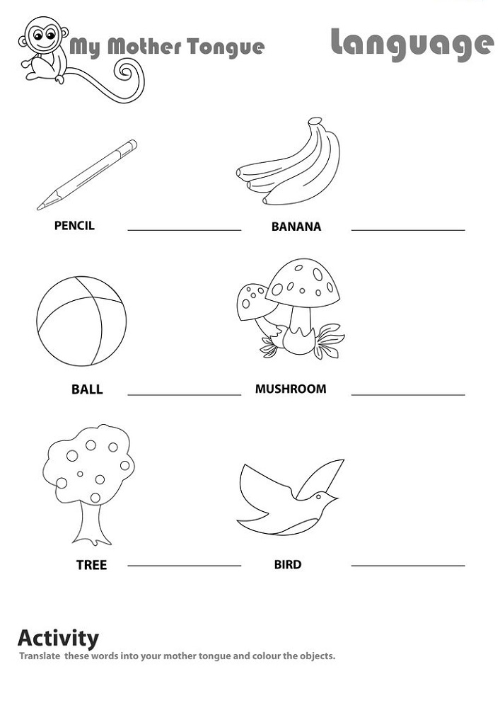 kids activity worksheets printable
