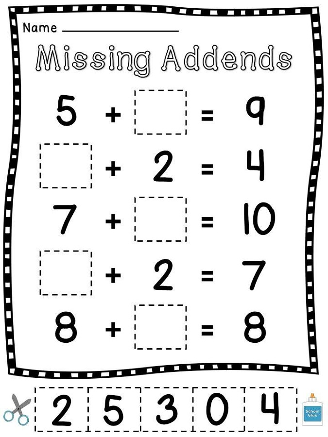 Math Worksheets For 1st Graders To Print Out : Math worksheets fun to print activity shelter