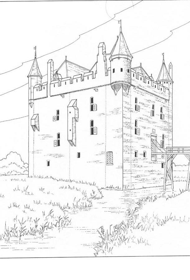 middle ages worksheets castle