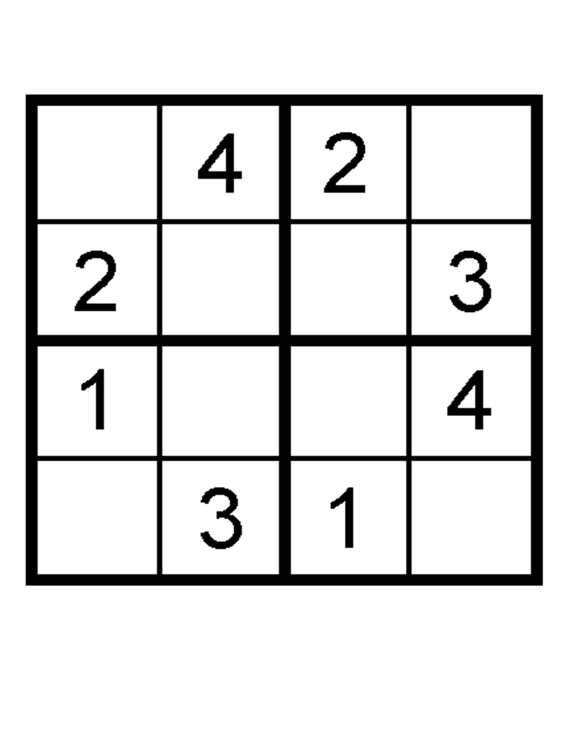 Gorgeous image in sudoku printable for kids