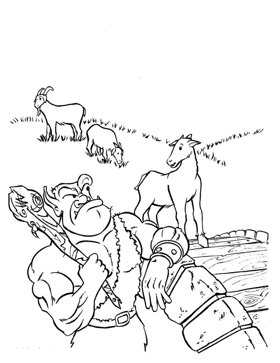 three billy goats gruff activities for kids