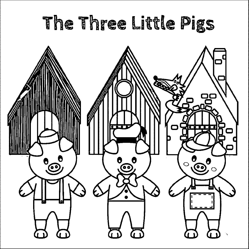 Printable Three Little Pigs Worksheets – Three Little Pigs Worksheets Kindergarten