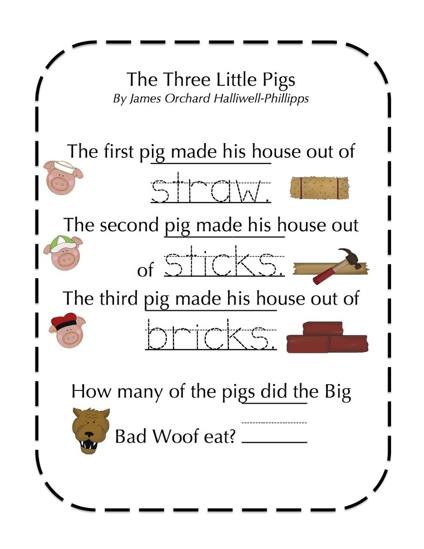 little red hen worksheets