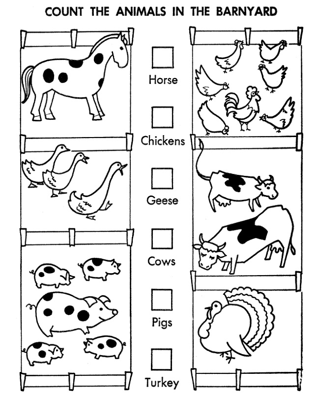 Fun activity sheets for year 1