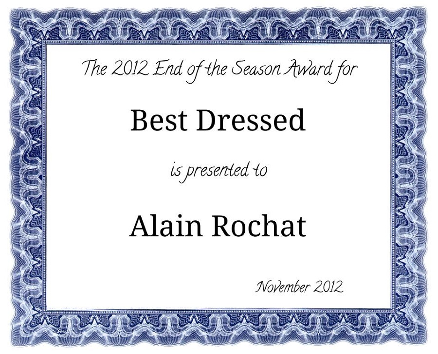 best dressed award certificate printable