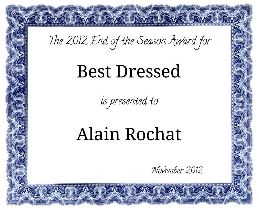 best dressed award certificate printable