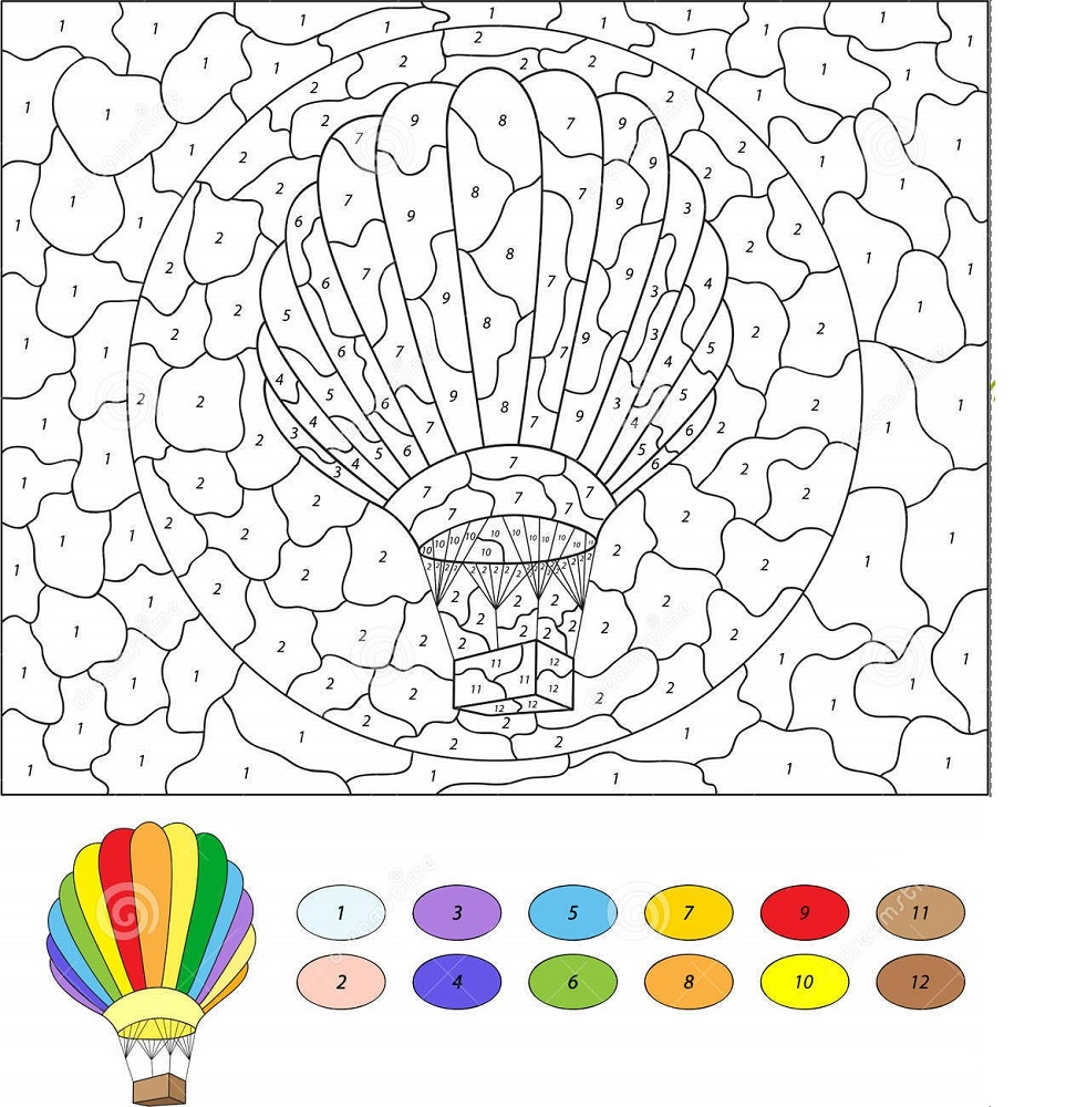 image regarding Color by Number Printable named Colour through Amount Mosaic Printable Recreation Shelter