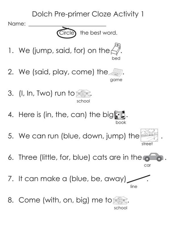 word game worksheets printable