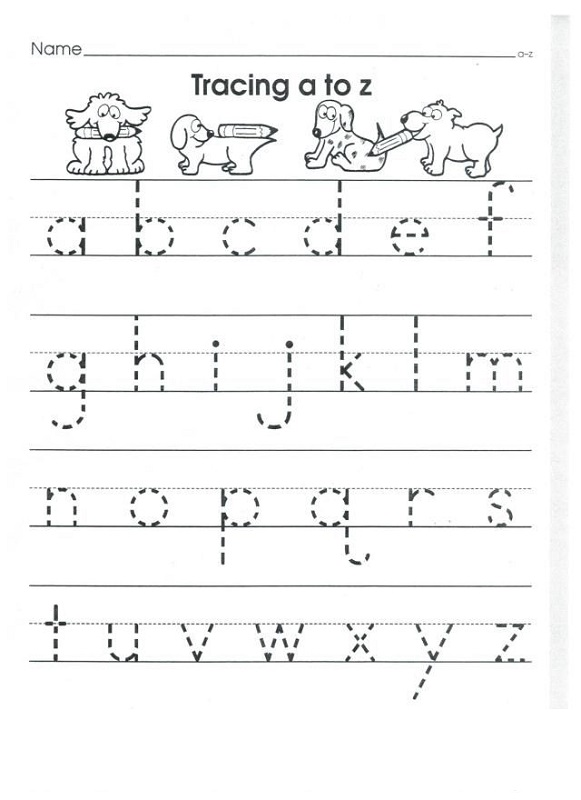 Lower Case Alphabet Worksheets | Activity Shelter