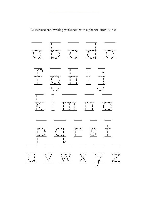 trace letter worksheets free printable