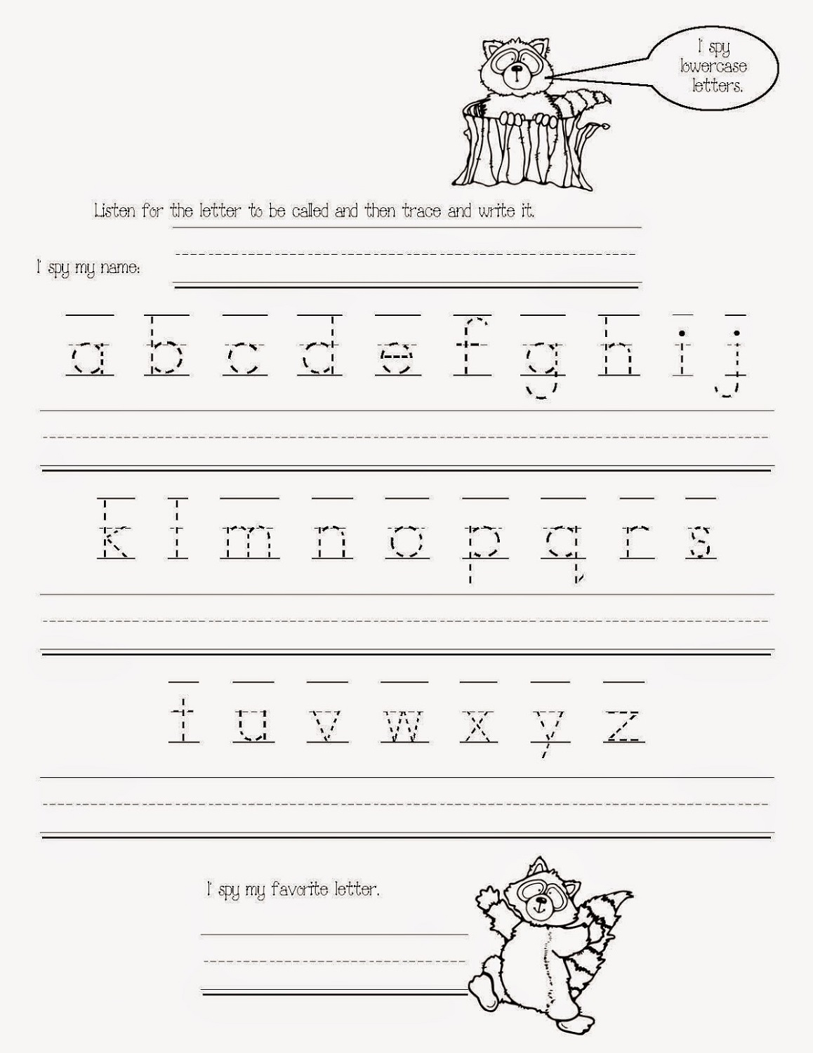 Traceable Alphabet Worksheets – Traceable Alphabet Worksheets