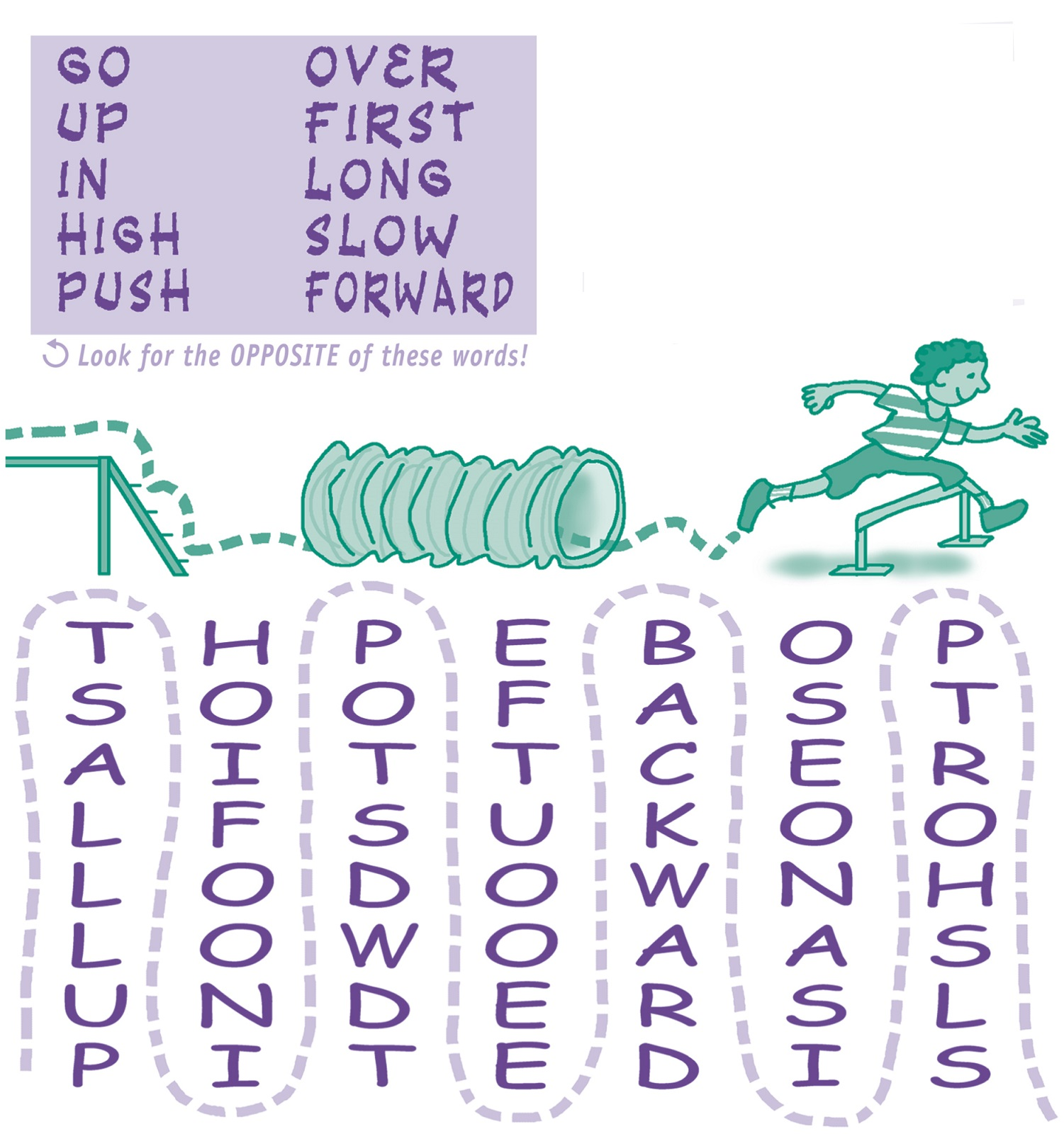 word puzzle for kids simple