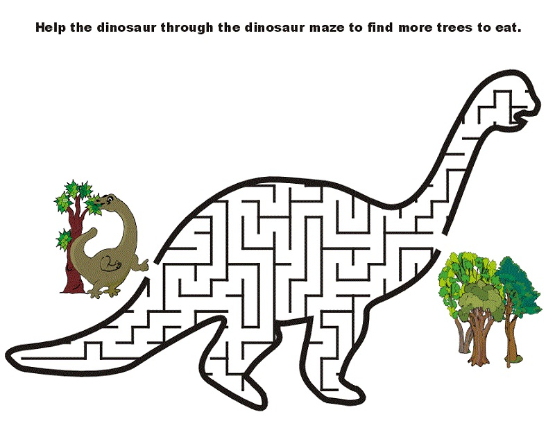 puzzle activities for kids dino