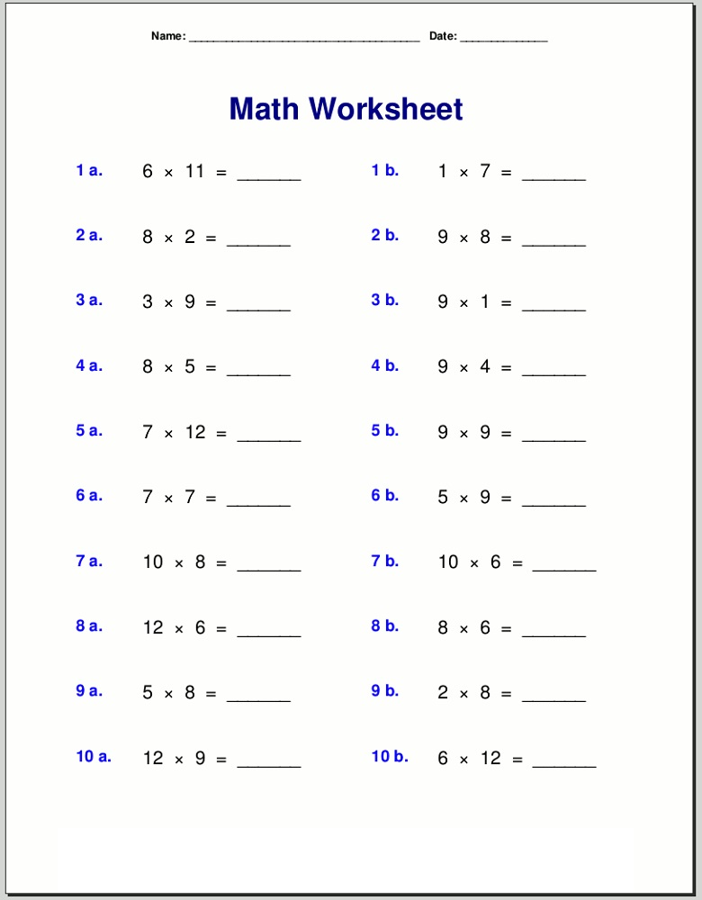 time table worksheet for kids