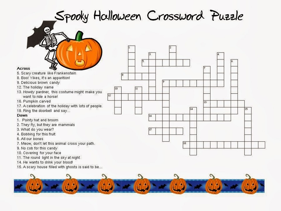 Very Easy Crossword Puzzles For Kids | Activity Shelter
