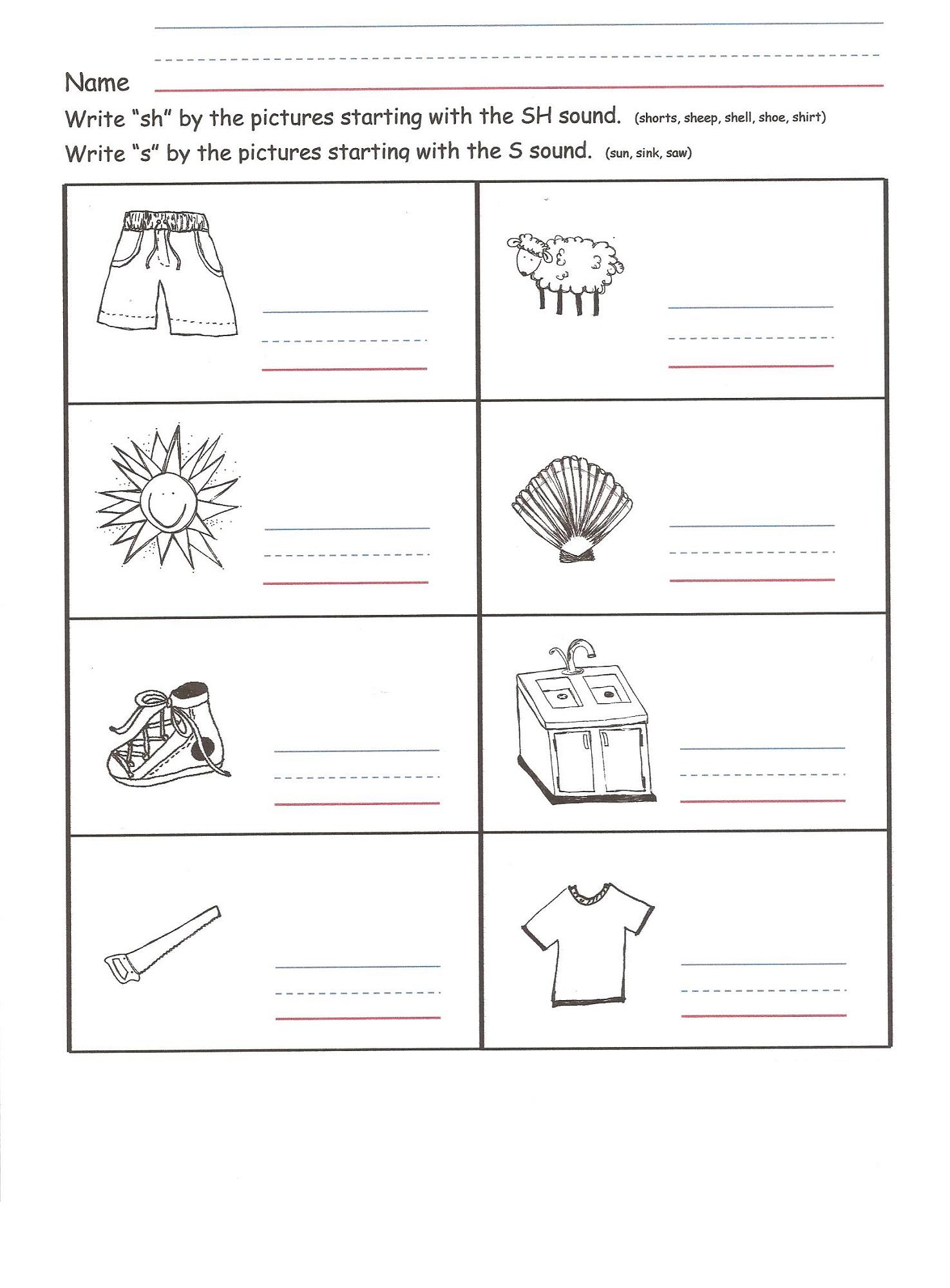 worksheets that work identify