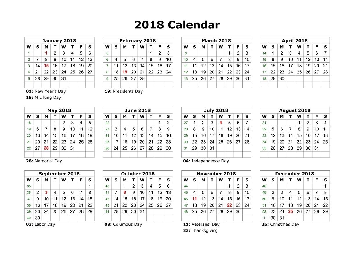 sep 2018 calendar with holidays